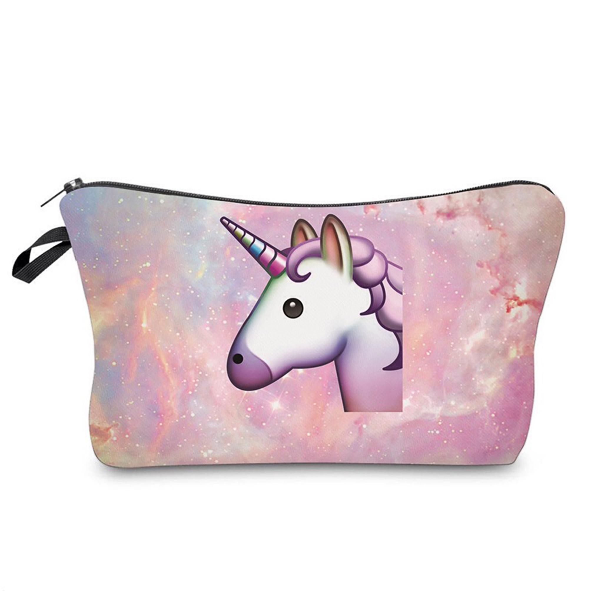 einhorn kosmetiktasche kulturbeutel unicorn beutel federmappe bulldogge make up ebay. Black Bedroom Furniture Sets. Home Design Ideas