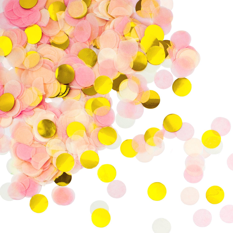 Nummer Konfetti Rose Gold Tisch Streu Deko Geburtstag Party Hochzeit 30g