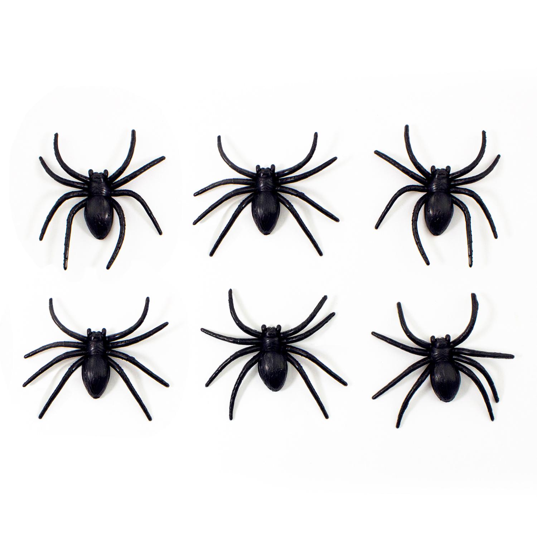 Riesige Spinne zum Erschrecken Halloween Fasching Karneval Scherz Horror Deko
